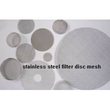 Stainless steel wire mesh ] stainless steel filter disc mesh