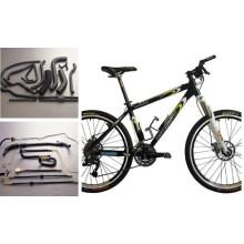 Tubo de extrusión de aleación de aluminio para cuadro de bicicleta de montaña