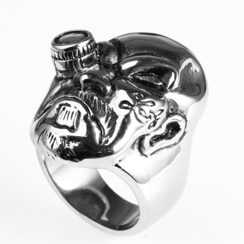 dummy eye skull ring