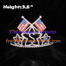 USA Flag Pageant Crowns