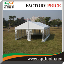 9m width 50 Seats Engineered Structuce Tent with Tables and Chairs