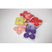 Non Smoking Scented Paraffin Wax Tea Lights Candles