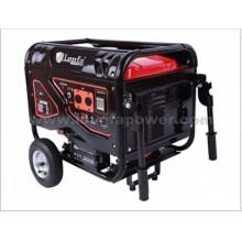 Générateur d'essence silencieux portable 3,5kVA 3kw avec roues et poignée