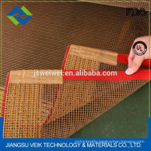 kevlar or PTFE teflon mesh dryer machine belt? for Conveyor