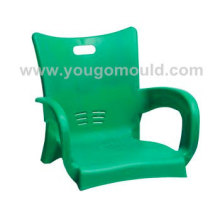 Plastic steel tube chair mould 02