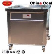 Machine à crème glacée frite commerciale simple