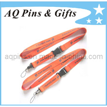 Heat Transfer Printing Lanyard with Plastic Buckle