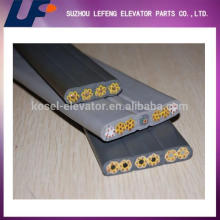 Elevator parts type flat elevator cable ,traveling cable, Elevator Traveling Cable