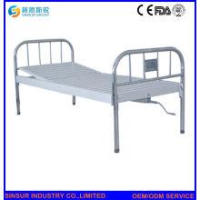 China-preiswerter Edelstahl ein Funktions-manuelles medizinisches Bett