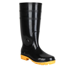 Good quality Industrial men Rubber work boots gumboot boots in ZheJiang
