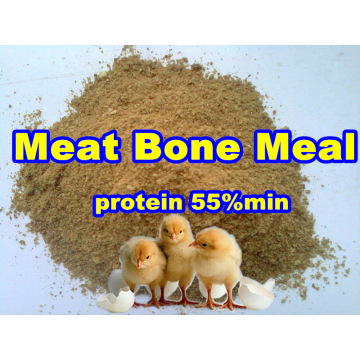Repas d'os de viande pour la protéine additive d'alimentation des animaux 50% min