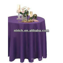 Toalha de mesa resistente ao calor, tampa de tabela do poliéster 100%