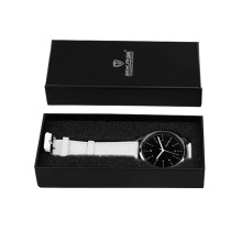 Kustom Black Gift Karton Paper Watch Box