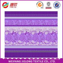 100 tissus de polyester 75 * 180D 85gsm pour la literie ensemble de literie