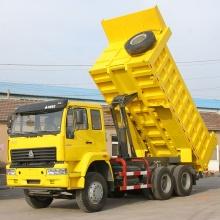 caminhão basculante 6 * 4 de 290hp modelo ZZ3257M3841W