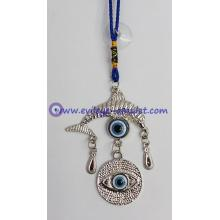 Evil Eye Amulet Evil Eye with Lucky dolphin Amulet or Car Hanging Decoration Ornament