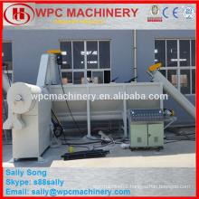 waste PP PE PVC PET plastic cleaning and washing machine line