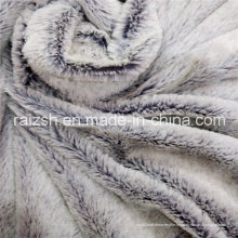 100% Polyester Embossed PV Fleece Vêtements et Home Textile Fabric