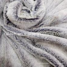 100% poliéster em relevo PV Fleece vestuário e tecido Home Textile