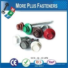 Hergestellt in Taiwan Painted Head Fasteners