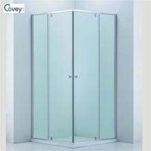 Sliding Shower Enclosure with Adjustable Frame/Customized Glass Door (3-Cvs048)
