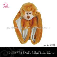 Monkey Fur Hat A1119