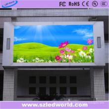 Panneau d'affichage fixe polychrome extérieur de P5 SMD 1r1g1b HD pour la publicité
