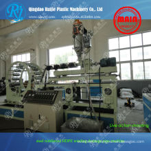 Machines en plastique de la HDPE de tuyaux d'acier en spirale