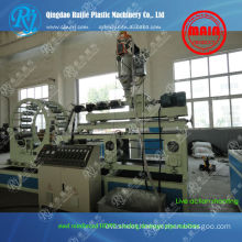 Spiral HDPE steel pipe plastic machinery
