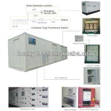 630kVA Container Package Sous-sol extérieur