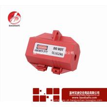 Wenzhou BAODSAFE BDS-D8641 Caixa de bloqueio de segurança do bloqueio do plugue vermelho
