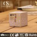 Haute efficacité à la maison décoration carré conduit lampe de bureau