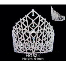 mini plastic crown popular pageant tiara rhinestone bride tiara bridal tiaras and crown