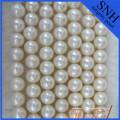 Perles fines d'eau douce de 9 à 10 mm