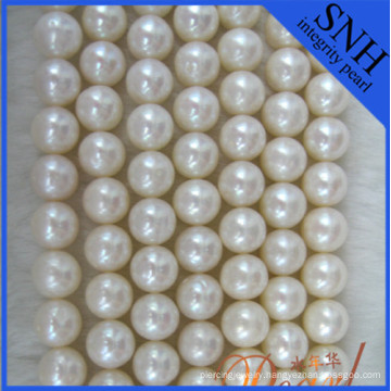 9-10mm Near Round Freshwater Pearls