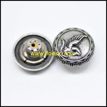 Metall Jeans Knopf mit Pegasus Logo