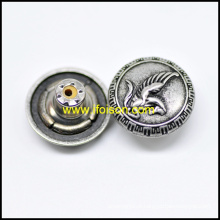 Botão de metal Jeans com logotipo de Pegasus