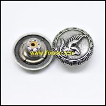 Кнопка металлическая джинсы с логотипом Пегас