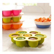 Silicone Freezing and Storing Baby Food Containertray Ice Mould