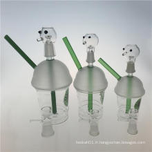 Nouveau Starbucks Cup Design Hookah Glass Smoking Water Pipes (ES-GB-356)
