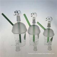 Tubos de água de fumo novos do vidro da cachoeira do projeto do copo de Starbucks (ES-GB-356)
