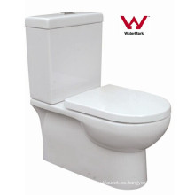 Watermark Baño Sanitario Cuarto de baño de dos piezas de cerámica (HZX-99)