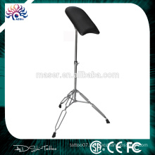New invention stainless steel tattoo arm/leg rest supply portable adjustable chair tattoo armrest
