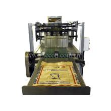 Máquina de saco de papel de alta tecnologia com equipamento de impressão de duas cores