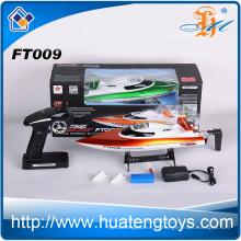 Feilun FT009 2.4Ghz пульт дистанционного управления гоночной лодки 30km / h максимальной скорости rc jet Лодка для продажи