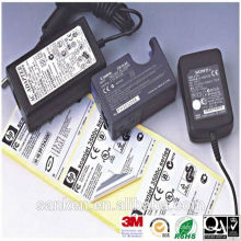 UL-Druck Etikett für Elektrogerät