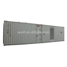 1000KW /1250 KVA generator set genset price with cummins QSK38-G5