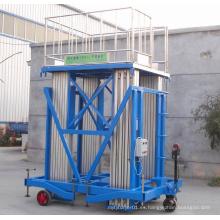 Más elevador de aleación de aluminio de columna