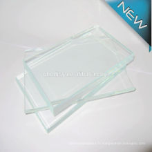 Prix de verre flotté, 15mm 19mm bâtiment transparent feuille de verre flotté