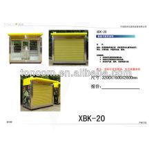 XBK-20 calle venta al por menor kioks para la venta con la caja ligera